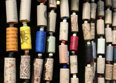 wine cork curtains | wine cork beaded curtain corks lots of corks by librarianguish on ...
