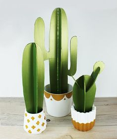 Create this project with Dazzling Metallics® — Use Dazzling Metallics® to create this sparkling cactus garden.