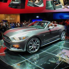 2015 Mustang Convertible in Barcelona