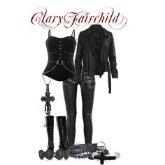 Mortal Instruments - Clary Fairchild if the movie was actually correct maybe I would call it that. Fandom Outfits, Emo Outfits, Girl Outfits, Cute Outfits, Fashion Outfits, Punk Fashion, Fashion Trends, Clary Fray Outfit, Movie Inspired Outfits