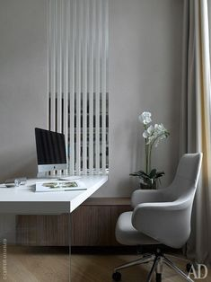 Trendy home office ideas contemporary interior design Ideas Contemporary Home Office Furniture, Contemporary Stairs, Contemporary Apartment, Contemporary Interior Design, Office Interior Design, Home Office Decor, Office Designs, Office Ideas, Contemporary Architecture