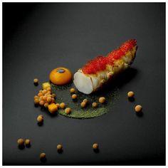 Norwegian Lobster with Pumpkin, Kaki, Vanilla & Bloody Mary @heiko_nieder #food #foodporn #foodie #foodart #fourmagazine