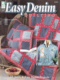 Easy Denim Quilting Patterns - 10 Easy Projects