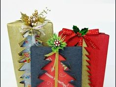 Мастер-класс «Подарочная упаковка с силуэтом елочки»