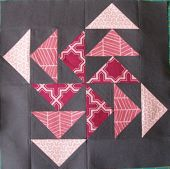 Breaking Out (Flying Geese) pattern and tutorial- Fat Quarterly Magazine