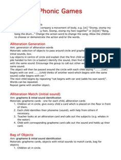 Jolly Phonics Scope & Sequence   PDF   Phonics   Alphabet