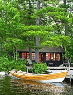 Au bord du lac ....
