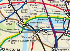 Physically Accurate Tube Map #UX