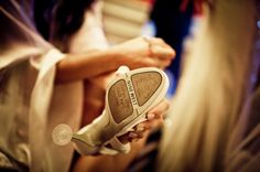 Before sliding on the wedding day pumps have all of the single bridesmaids, friends and relatives autograph the sole of the bride's shoes. But why? Learn more about Turkish traditions on our blog! See more here: https://www.hautewedding.co.uk/en/blog/?&article=181&name=Turkish-wedding-traditions