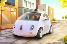 Next GEN?: Google's New Self-Driving Car Doesn't Have A Steering Wheel
