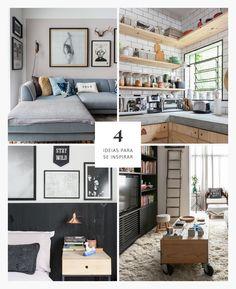 Ideias em profusão | 4 boas ideias de decoração | Histórias de Casa