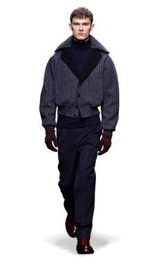 Ermenegildo Zegna Couture: Fall Winter 2014-15 Fashion Show by Stefano Pilati – Look 24