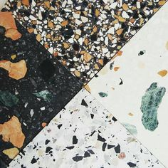 Terrazzo comes in all shapes and sizes