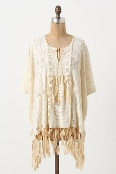 lace boho tunic