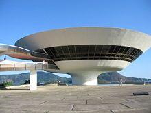 Museu de Arte Contemporânea in Niterói - Oscar Niemeyer