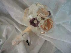 Biancas bouquet. ..all handmade