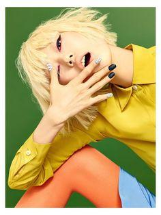 koreanmodel:  Joo Eo Jin, Park Hee Jeong, Kim Yong Ji for Aritaum Flagship Store 2016 campaign