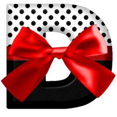 Best Salon, Monogram Alphabet, Mandala Painting, Red Ribbon, Iphone Wallpaper, Polka Dots, Bows, Letters, Black