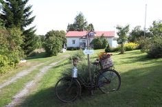 maalaistalo,huvila,piapiiri,polkupyörä,mökki