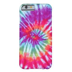 Pink Spiral Tie-Dye iPhone 6 case iPhone 6 Case