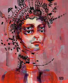 The paintings of Vanessa Dakinsky