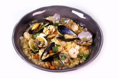 Seafood Risotto by Mario Batali