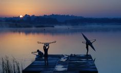 Morning rowing....the best