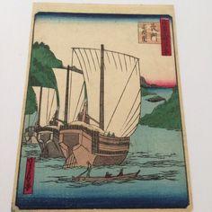 Japanse woodblockprint - kleuren houtsnede - Sadanobu ga - Japan - ca. 1860-1865