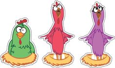 kit festa da galinha pintadinha para imprimir
