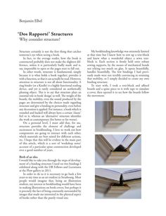 Dos Rapporté structure. Article for The New Bookbinder Vol. 32