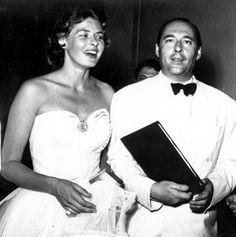 Ingrid Bergman and Roberto Rossellini