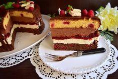 Cake Recipes, Dessert Recipes, Romanian Food, Food Cakes, Homemade Cakes, Easy Desserts, Cheesecake, Food Porn, Good Food