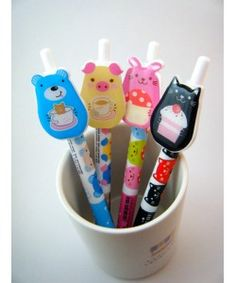 Kawaii Animal Pens  $2.49