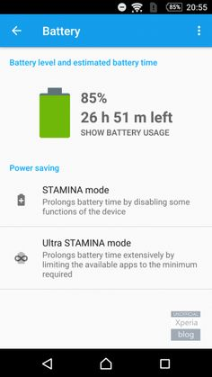 STAMINA-Mode in neuester Sony Xperia Android 6.0 Beta verfügbar