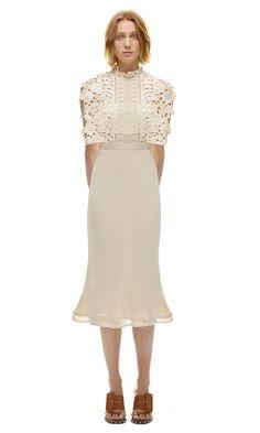 6b06e31157ee Self Portrait Cape Detail Stand Collar Midi Dress [sp10-050] - $239.00 :