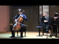"""The closing concert of the music festival """"Cello-Bass"""" (fragments)"""