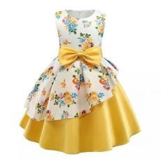 Daily Deals For Moms Daily Deals For Moms,Products Toddler / Kid Floral Print Bowknot Belted Ruffled Party dress There are images of the best DIY designs in the world. African Dresses For Kids, Gowns For Girls, Frocks For Girls, Kids Frocks, Girls Party Dress, Little Girl Dresses, Birthday Dresses, Party Dresses, Dresses For Babies