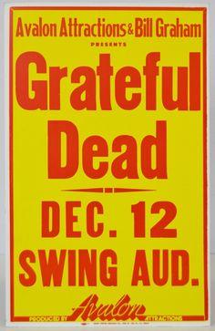 Grateful Dead Boxing Style Concert Poster - Grateful Dead Boxing Style Cardboard Concert Poster, First Printing. Estimate: $800-1000