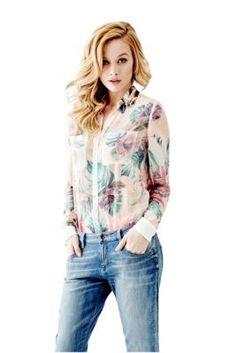 Clouis Long-Sleeve Shirt | GUESS.com