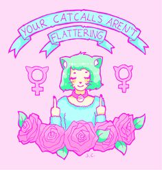 feminist pastel goth kawaii @Lara Brady Creative. This is all that you need.