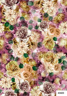 Estampa do dia Nanete Têxtil #estampa #estamparia #malha #print #tendência #nanete #floral www.nanete.com.br