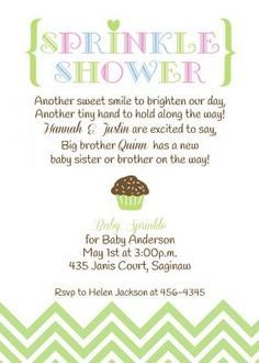 Baby sprinkle invitation girl version any color couples pink sister boy baby shower invitations wording ideas google search filmwisefo Gallery
