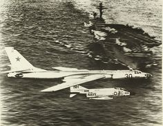 Close encounters during Cold War. Tu-16 & F-4