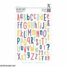 Shop for Xcut Dies Alphabet. Get free delivery On EVERYTHING* Overstock - Your Online Scrapbooking Shop!