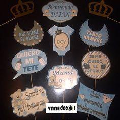 Baby Shower #props#photobooth#propsphotobooth#babyshower#babyonboard#baby#boy#itsaboy#esniño#vanedecor#valencia#Venezuela