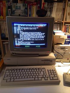 IRC on the Amiga 1000
