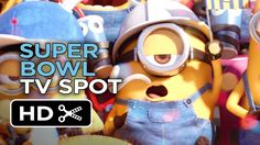 The #Minions get so crazy they lose their overalls in this New #SuperBowlXLIX TV Spot!