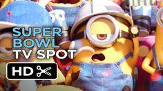 Simpático vídeo de los Minions como anticipo de la fiebre deportiva que suscita la Super Bowl en Estados Unidos.  Minions Official Super Bowl TV Spot (2015) - Despicable Me Prequel HD