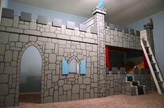 Castle bunk beds