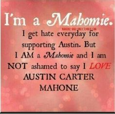 Mahomie :) forever and always.